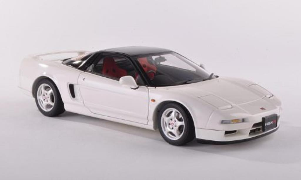 Honda NSX 1/18 Autoart Type R white/black 1992 diecast model cars