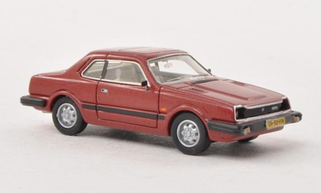 Honda Prelude Mk1 Red 1981 Neo Diecast Model Car 1/87
