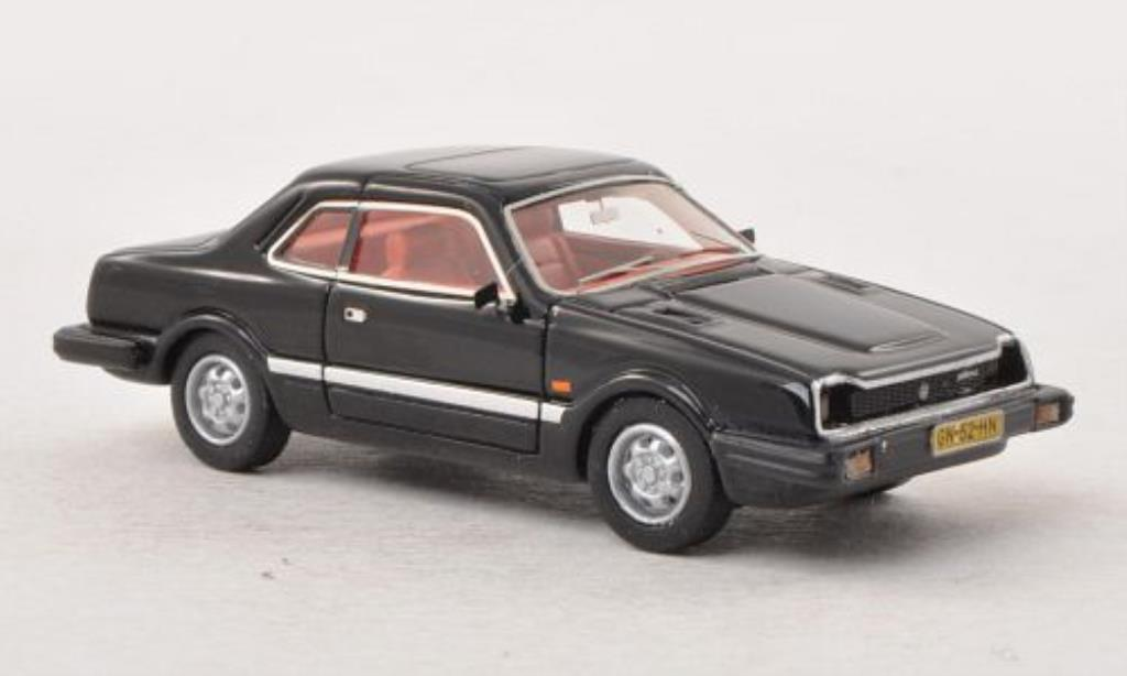 Honda Prelude MK1 Black 1981 Neo Diecast Model Car 1/87