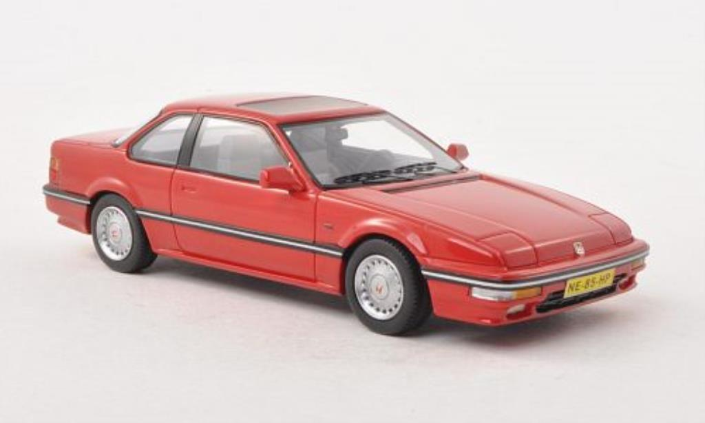 Honda Prelude 1/43 Neo Mk3 4WS 2.0i 16 rouge 1987 miniature