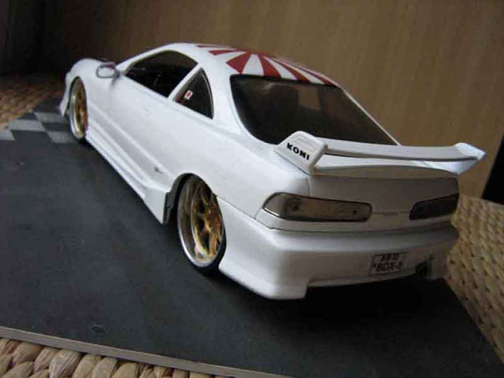 Honda Integra Type R 1/18 Hot Wheels jdm bianca