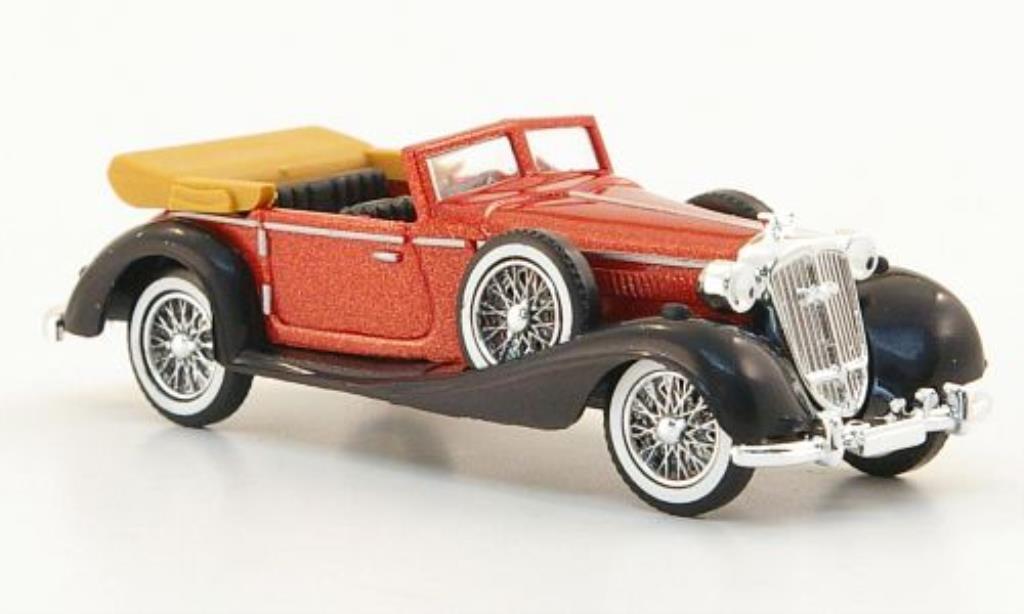 Horch 853 1/87 Busch rouge/noire 1933 miniature