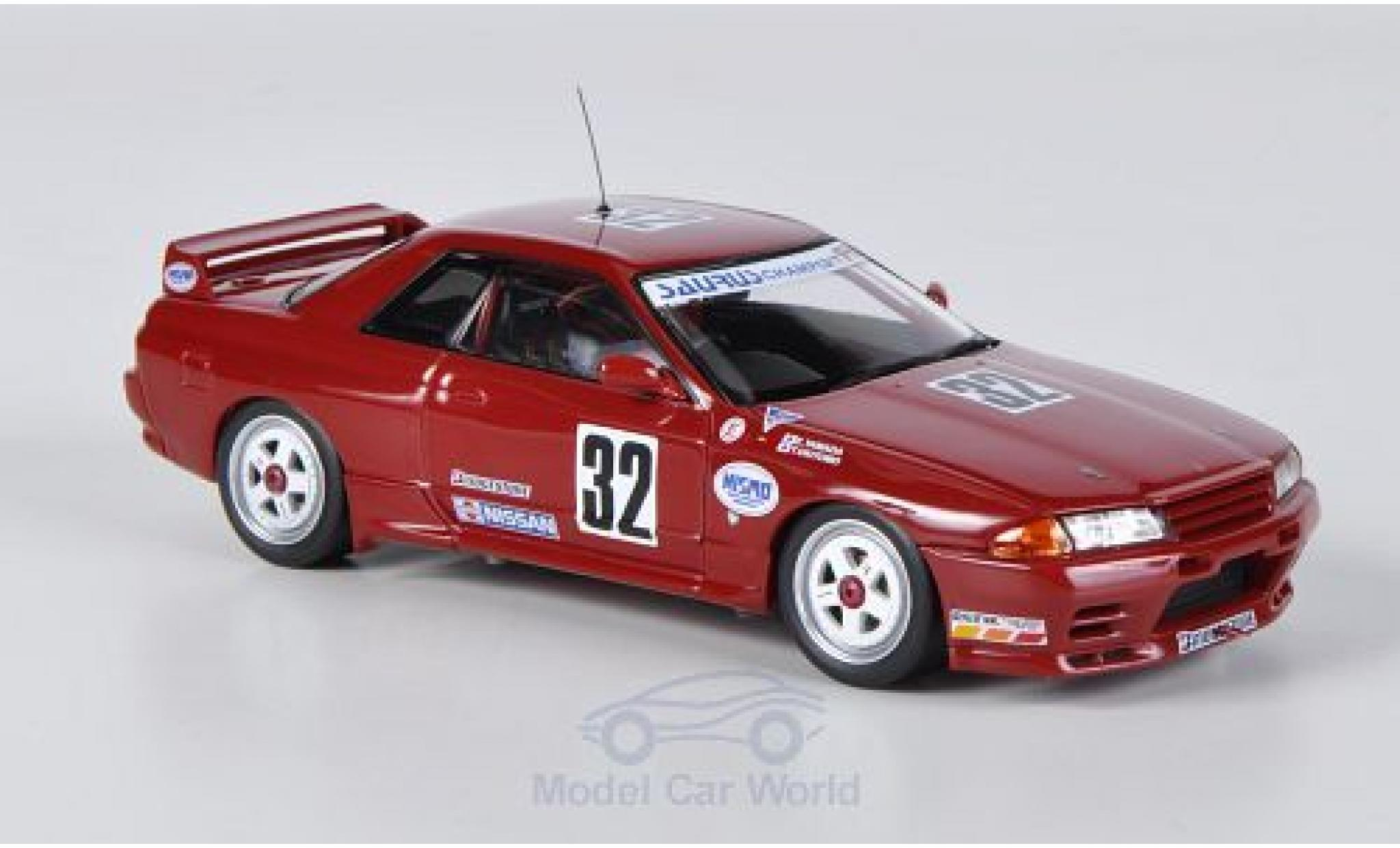 Nissan Skyline 1/43 HPI MIrage GT-R (R32) No.32 Saurus Champ / Nismo JTCC 1991