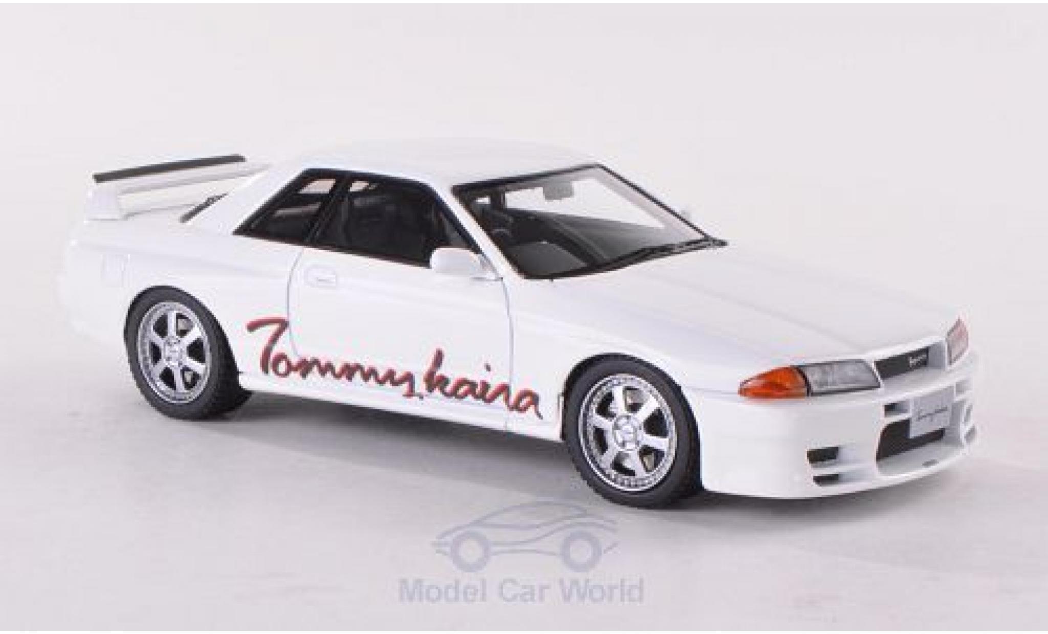 Nissan Skyline 1/43 HPI Tommykaira R (R32) blanche RHD
