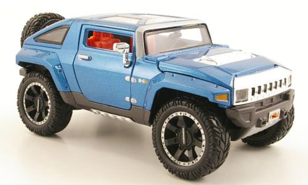 Hummer HX 1/24 Maisto bleu 2008 miniature