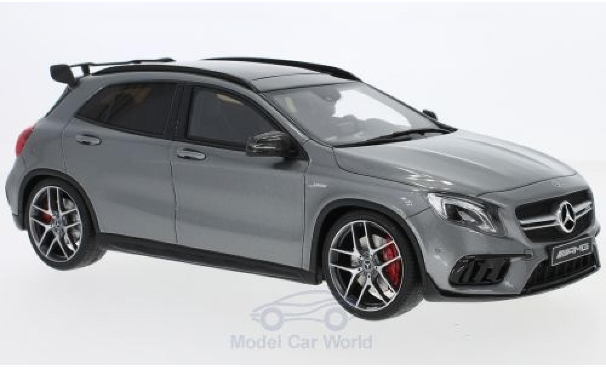 Mercedes Classe GLA 1/18 GT Spirit AMG GLA 45 metallise grise