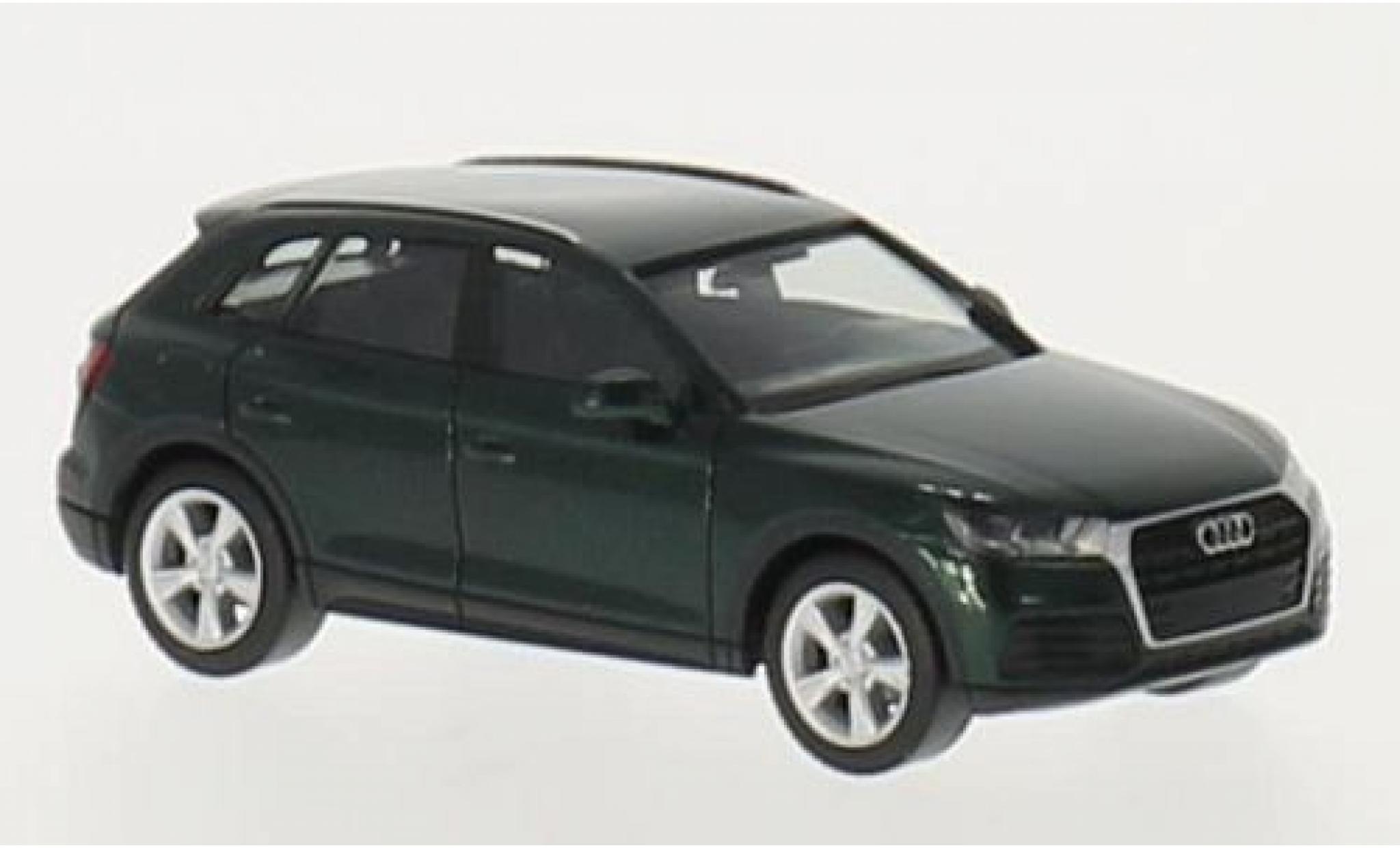 Audi Q5 1/87 I Herpa metallise green