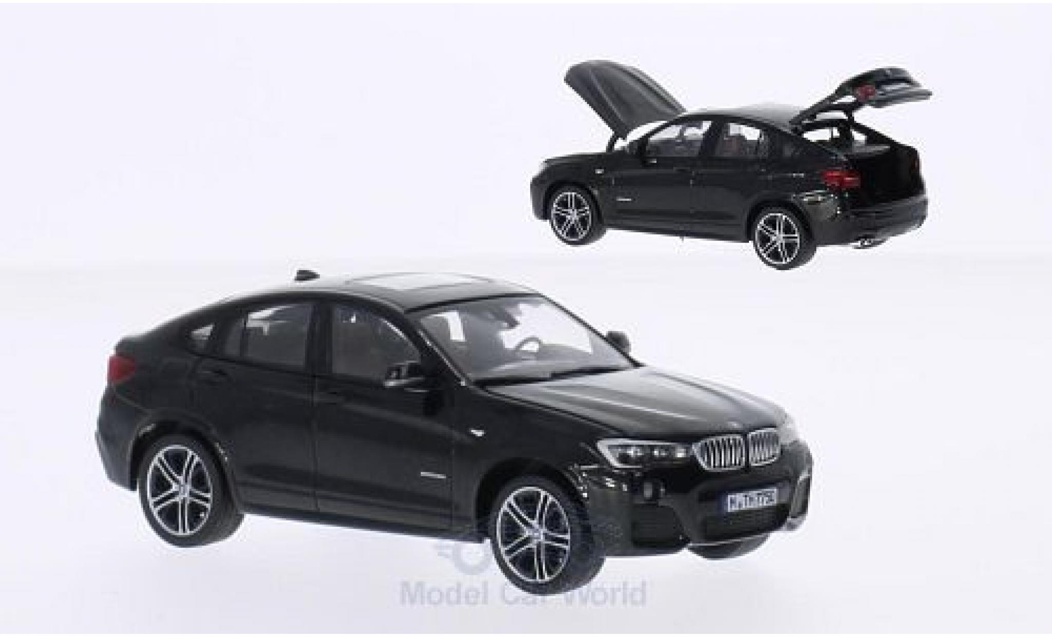 Bmw X4 F26 1/43 Herpa BMW (F26) metallic-noire 2015