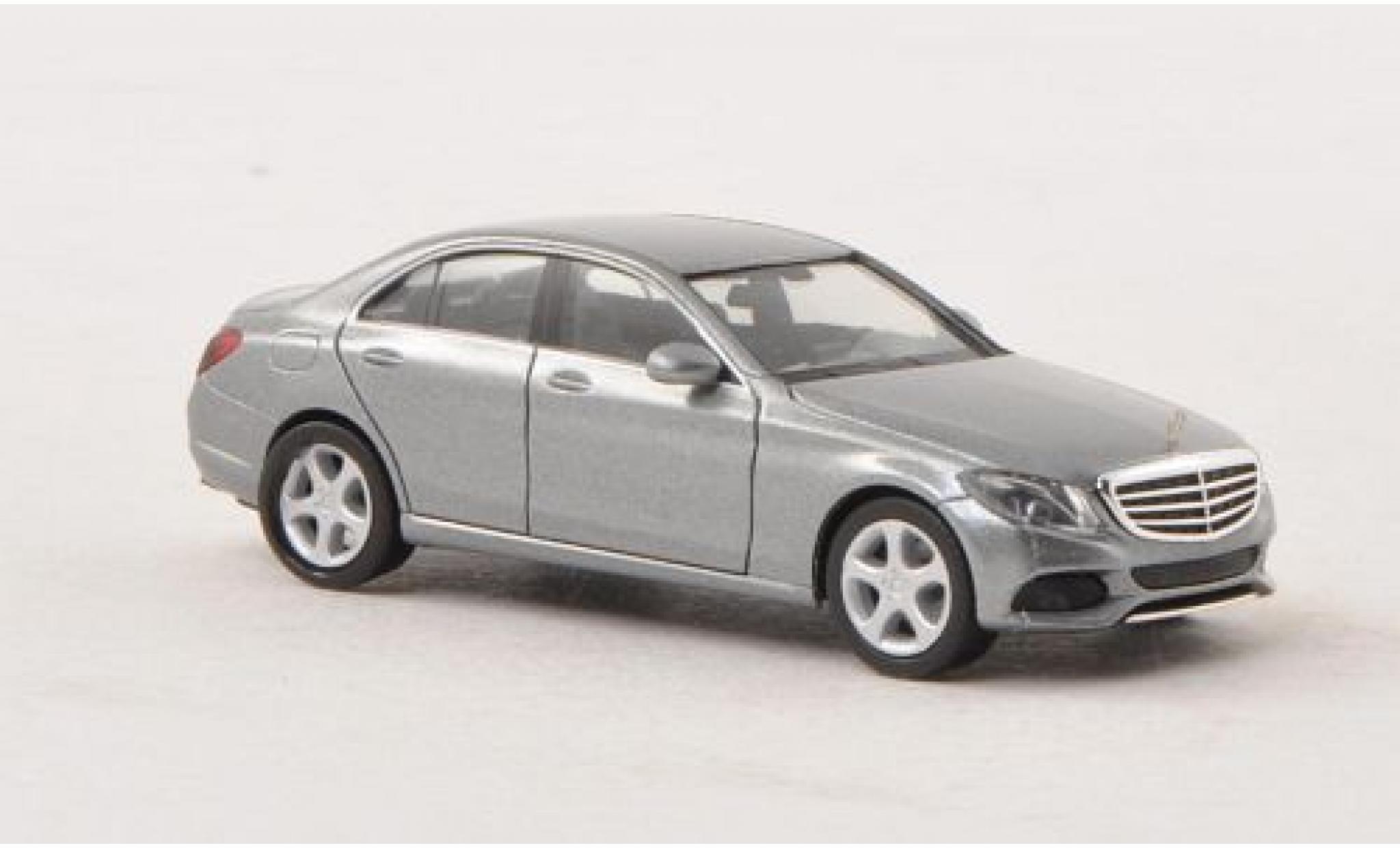 Mercedes Classe C 1/87 I Herpa (W205) metallise grise 2014