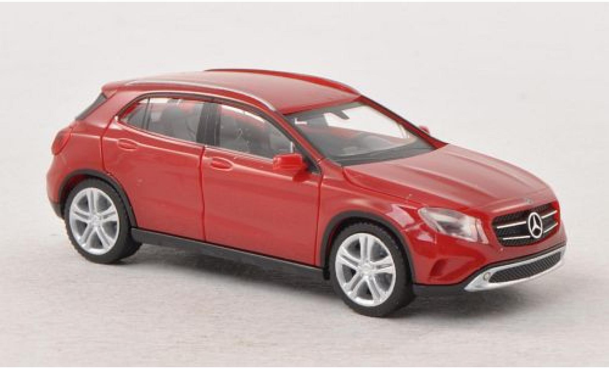Mercedes Classe GLC 1/87 I Herpa GLClasse A (X156) rouge 2014