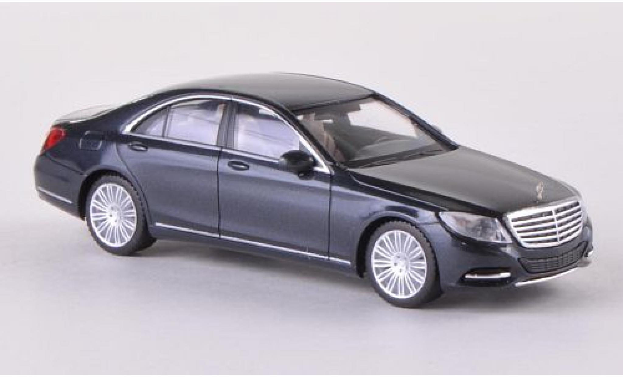 Mercedes Classe S 1/87 I Herpa (W222) metallise anthrazit 2013