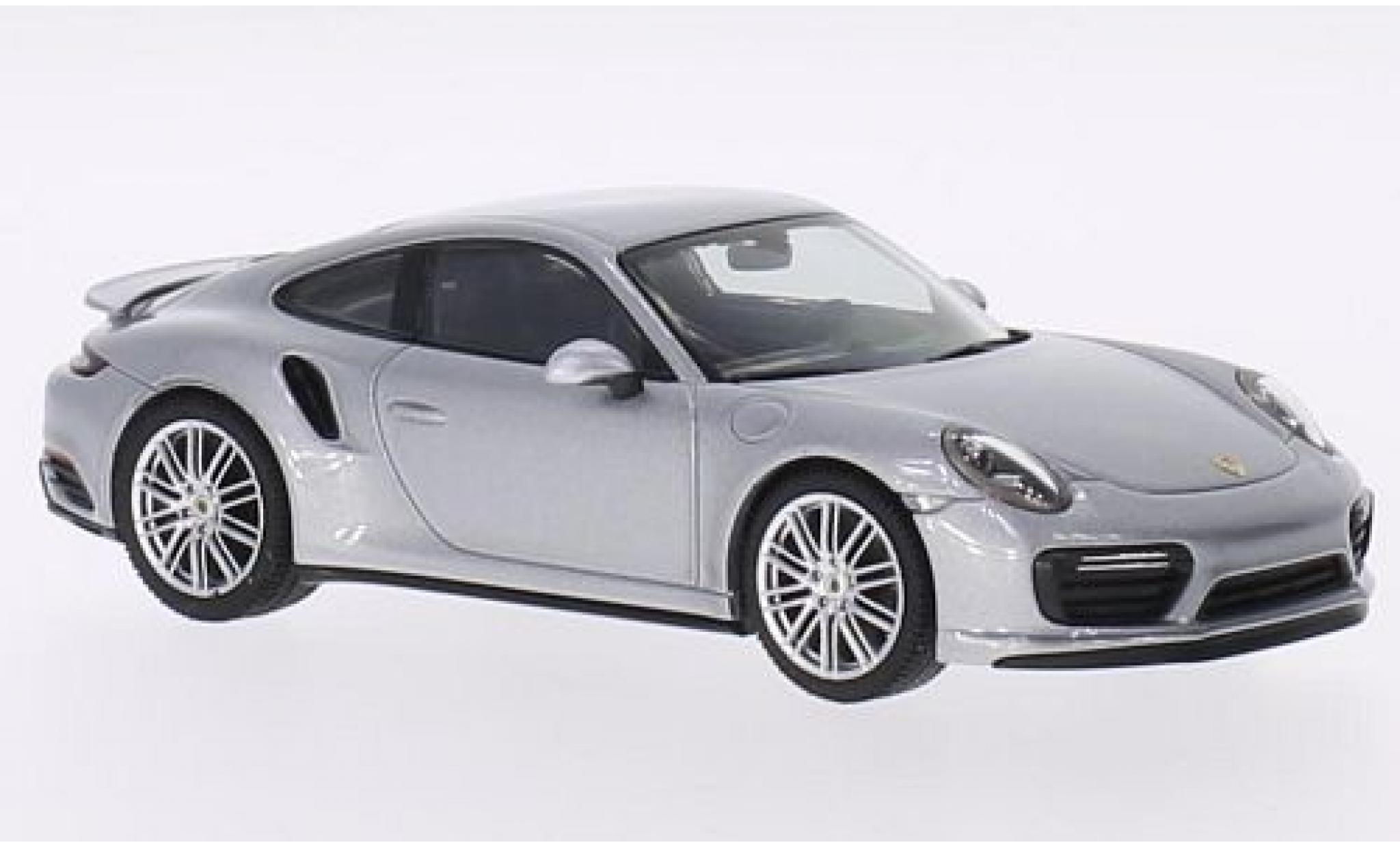 Porsche 991 Turbo 1/43 I Herpa 911 (/2) Coupe grey