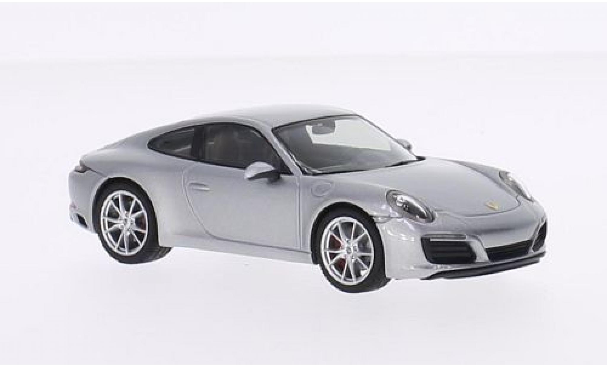 Porsche 991 S 1/43 I Herpa 911  Carrera Coupe grey 2015
