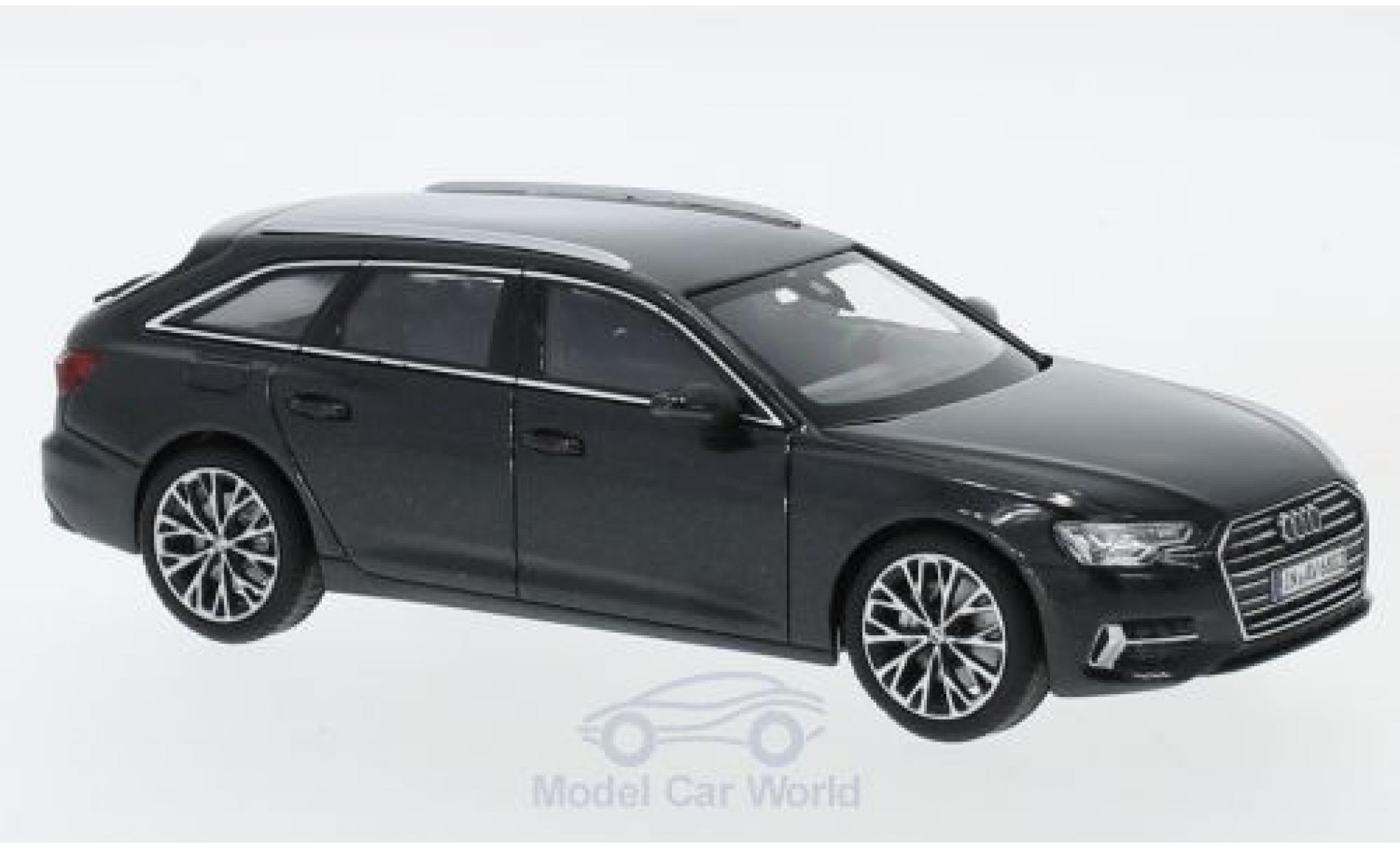 Audi A6 1/43 iScale Avant métallisé grise 2018
