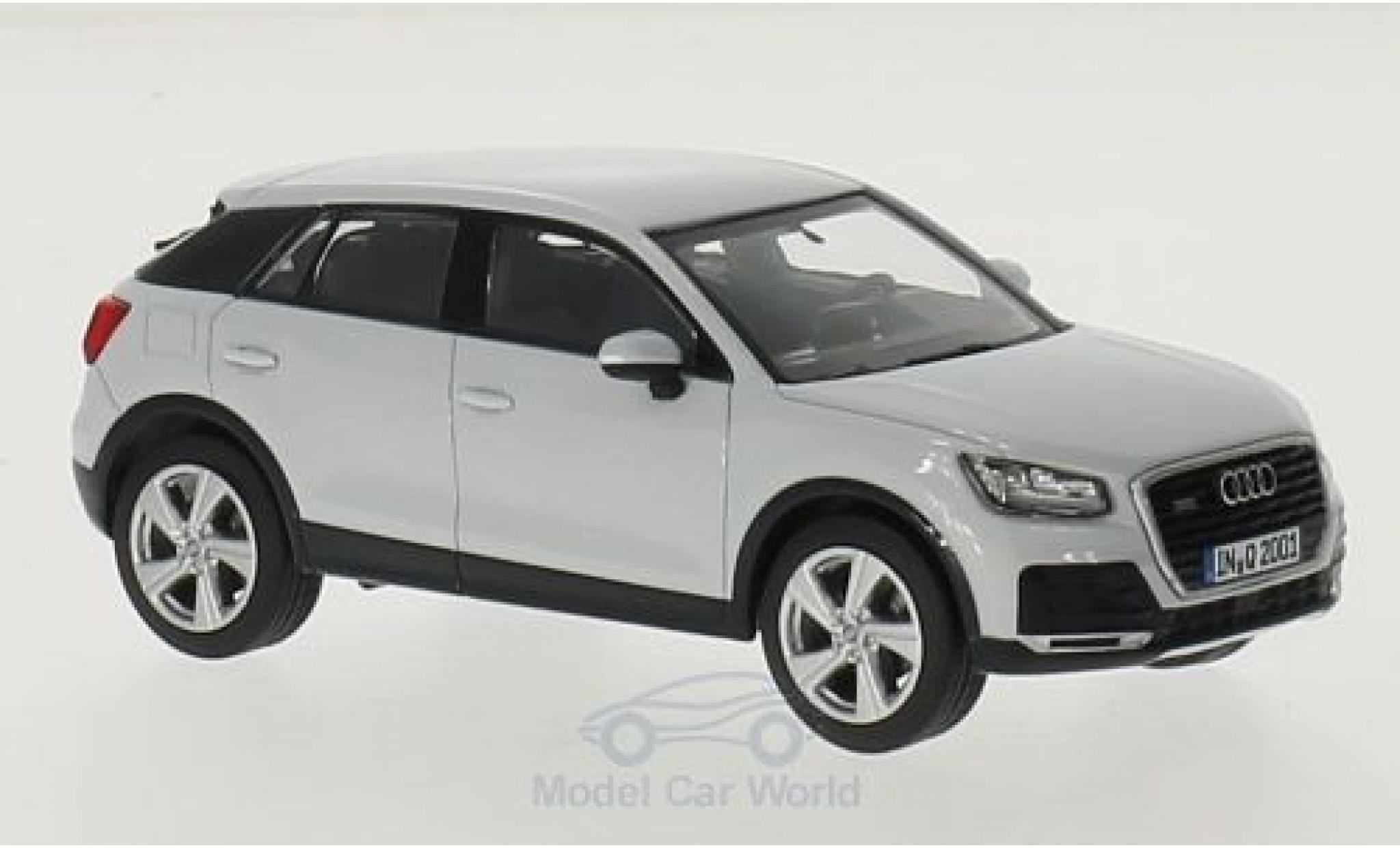 Audi Q2 1/43 iScale white