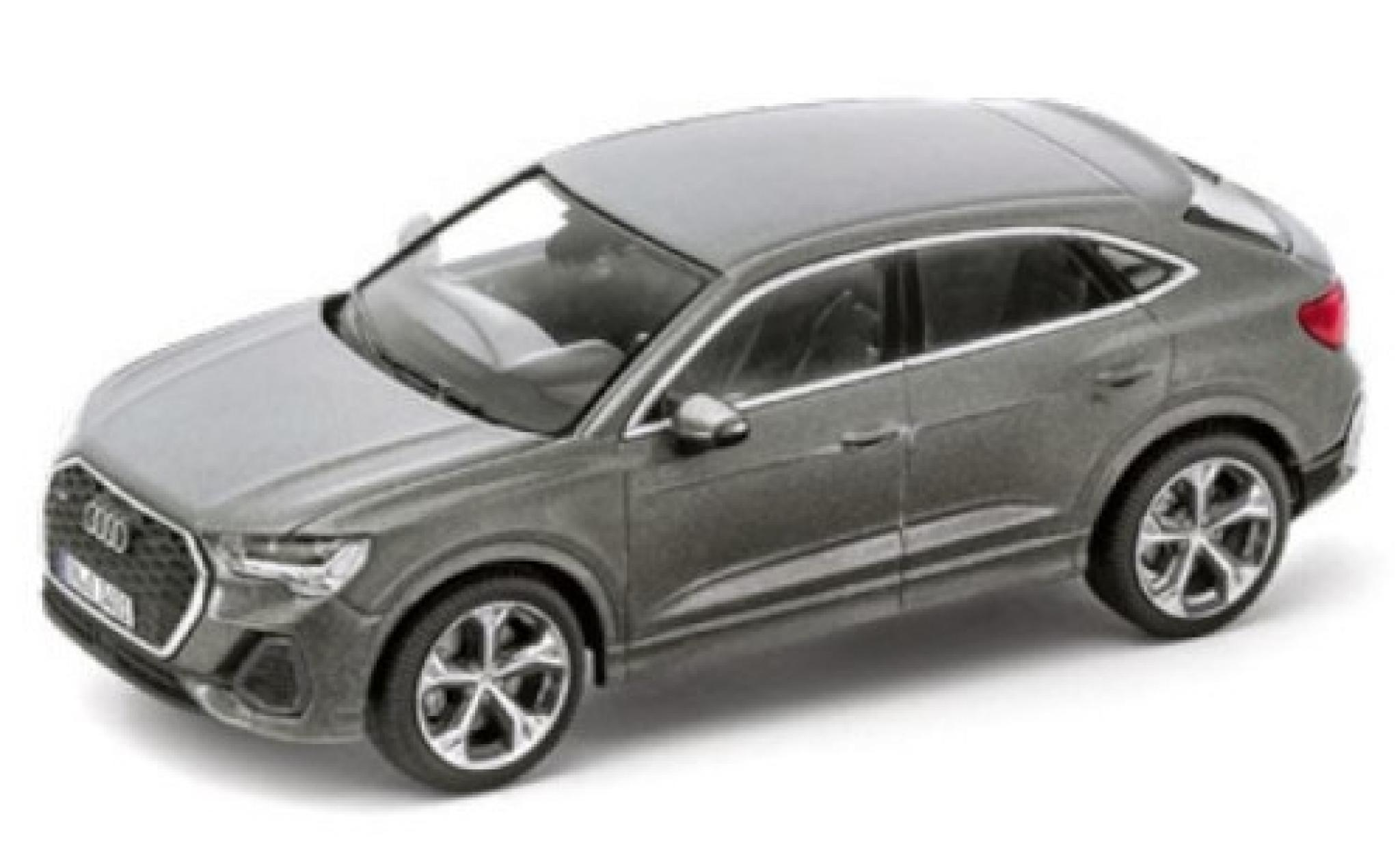 Audi Q3 1/43 I iScale Sportback (F3) metallise grey 2020