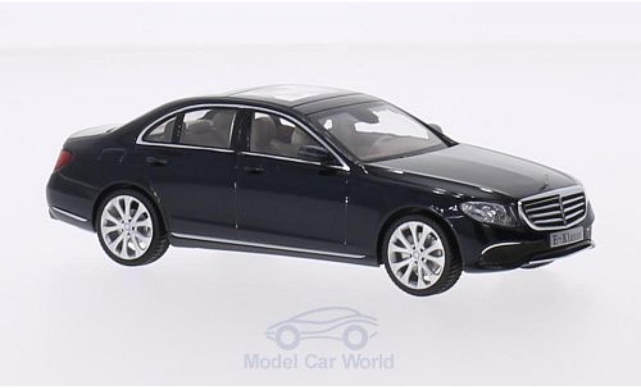Mercedes Classe E 1/43 iScale (W213) Exclusive métallisé verte 2016