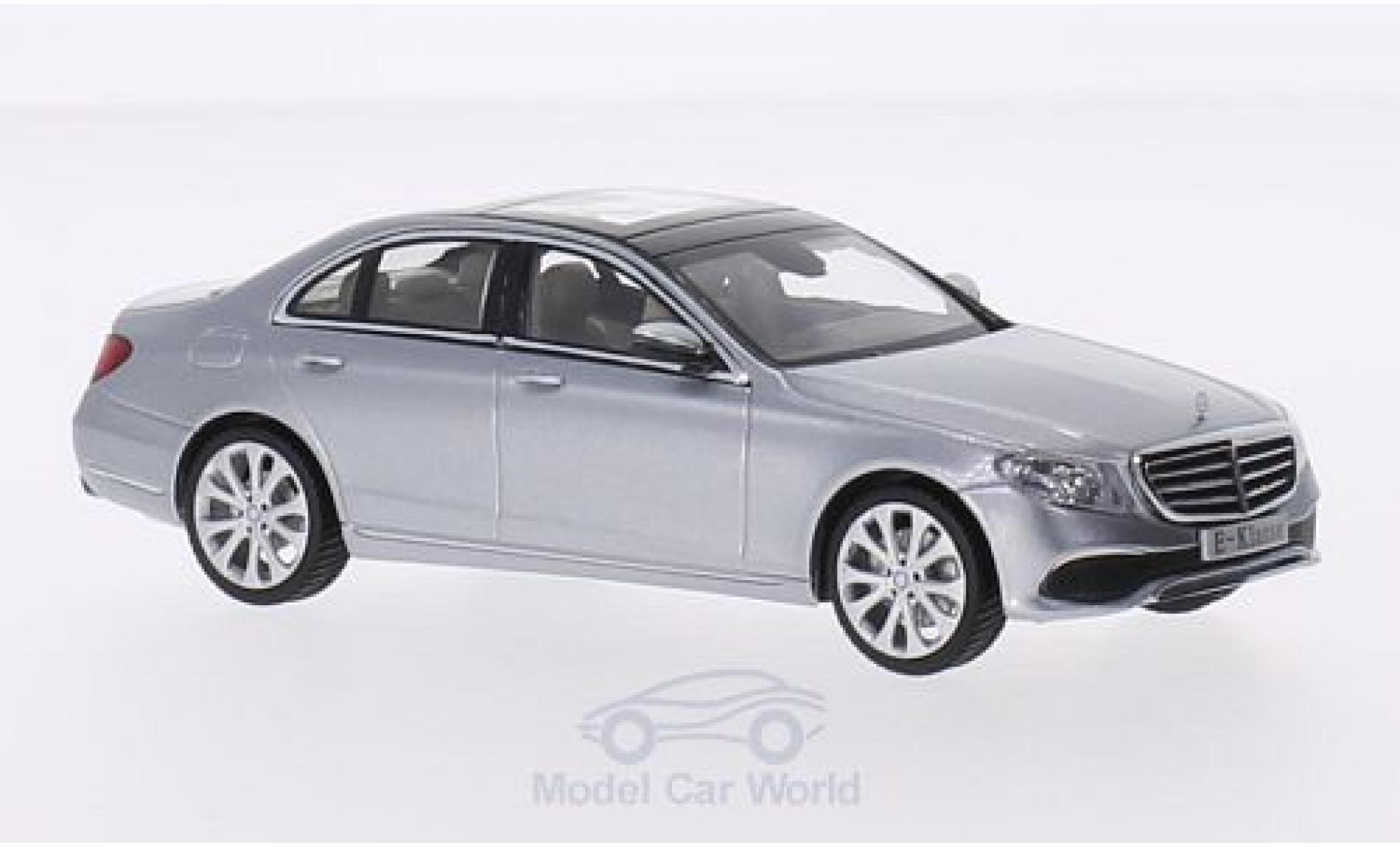 Mercedes Classe E 1/43 iScale (W213) Exclusive grise 2016