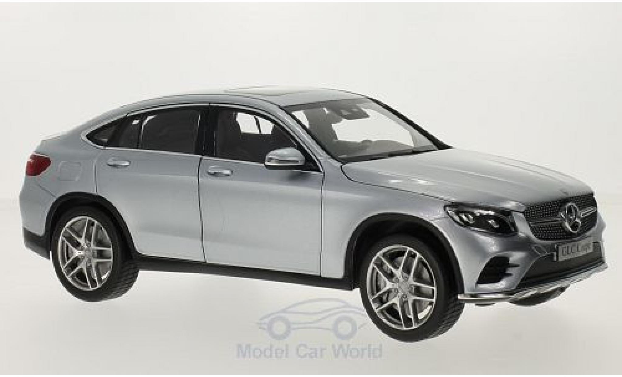 Mercedes Classe GLC 1/18 iScale GLC Coupe (C253) grise