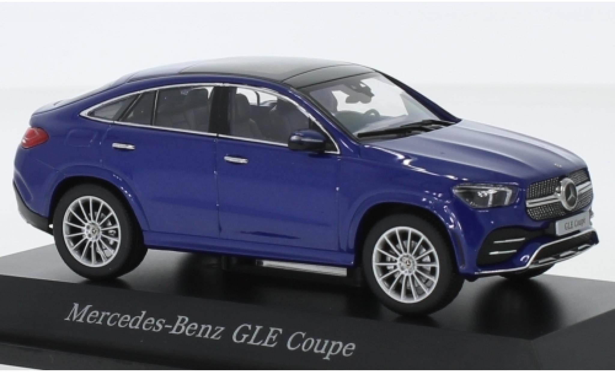 Mercedes Classe GLE 1/43 iScale GLE Coupe (C167) metallise bleue
