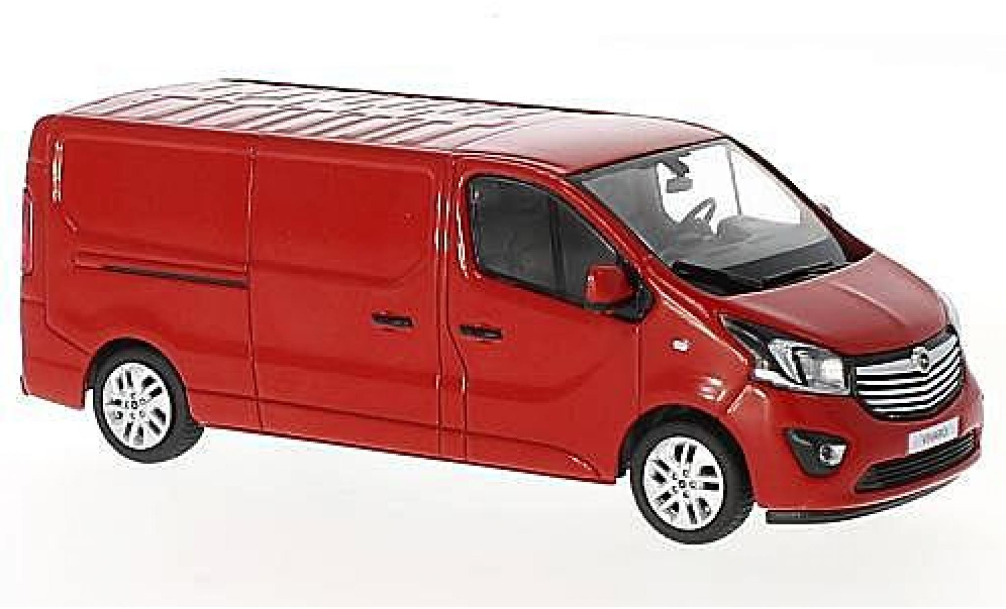 Opel Vivaro 1/43 I iScale B rot