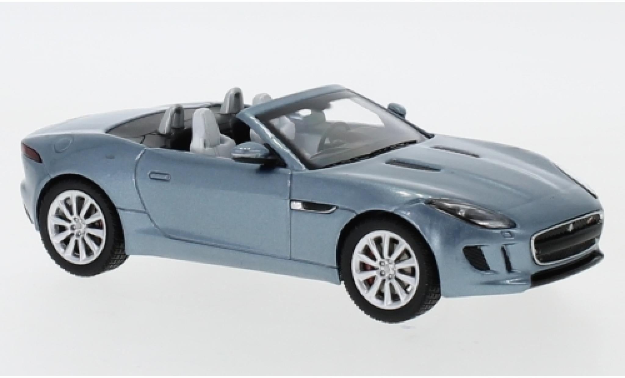 Ixo coche modelo. Escala Jaguar F-Tipo-V8 S Convertible-Rojo 1:43