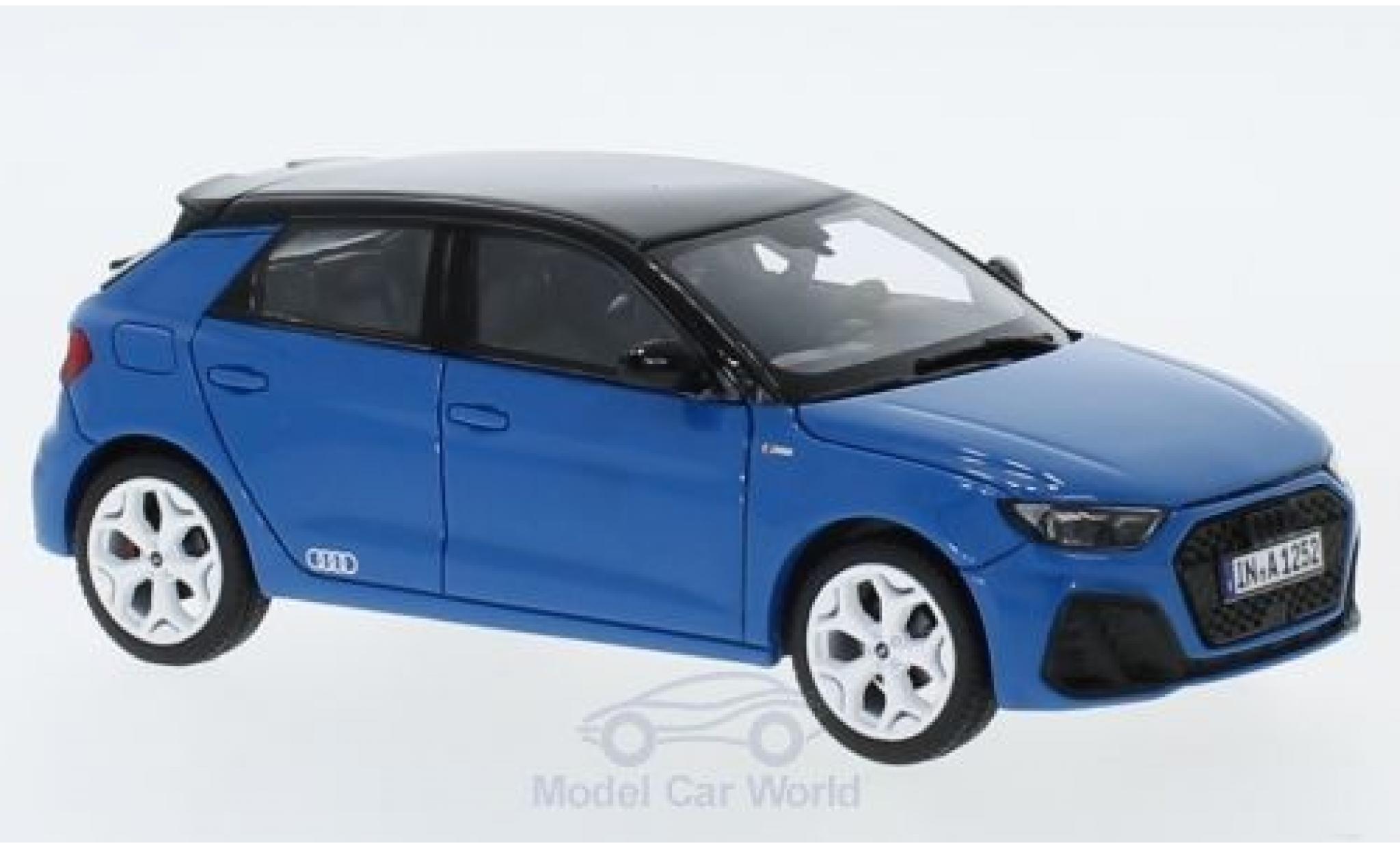 Audi A1 1/43 Jadi Sportback Edition One bleue/noire 2018