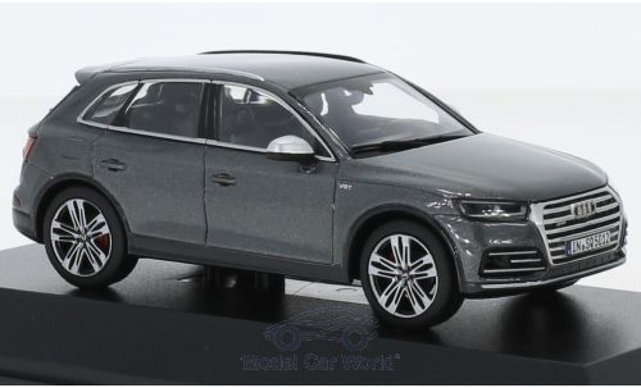 Audi SQ5 1/43 I Jadi TFSI métallisé grise 2018