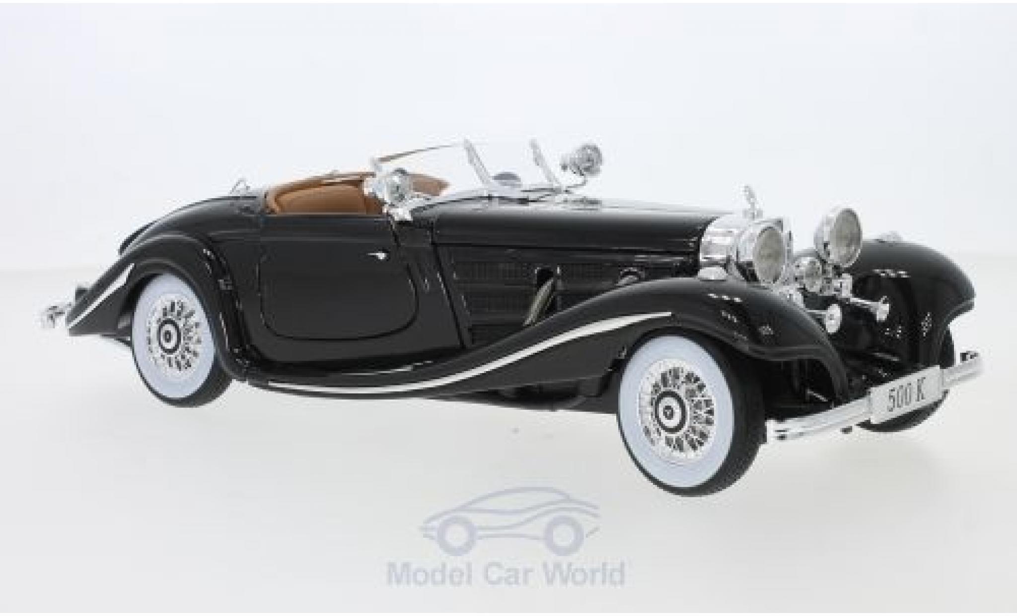 Mercedes 500 1/18 Maisto K Spezial-Roadster (W29) marron 1934