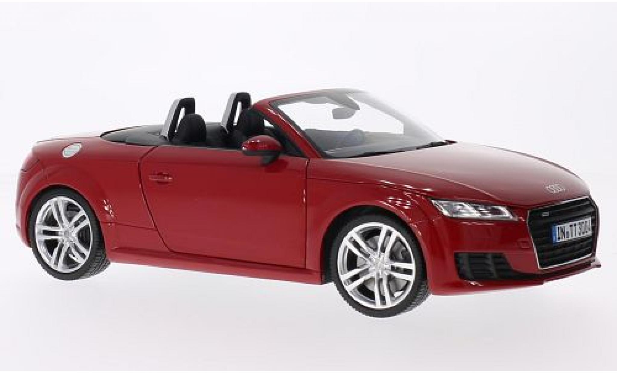 Audi TT 1/18 I Minichamps Roadster rouge 2015