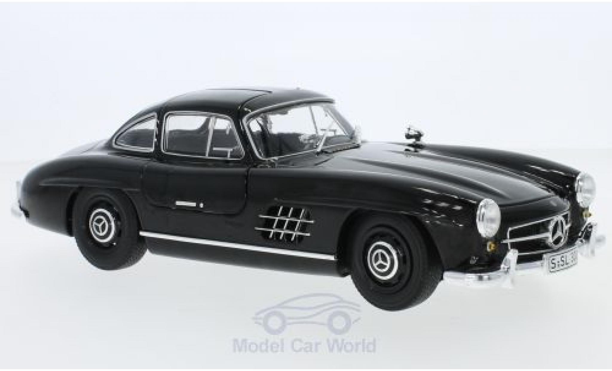 Mercedes 300 SL 1/18 Minichamps SL (W198) noire 1954