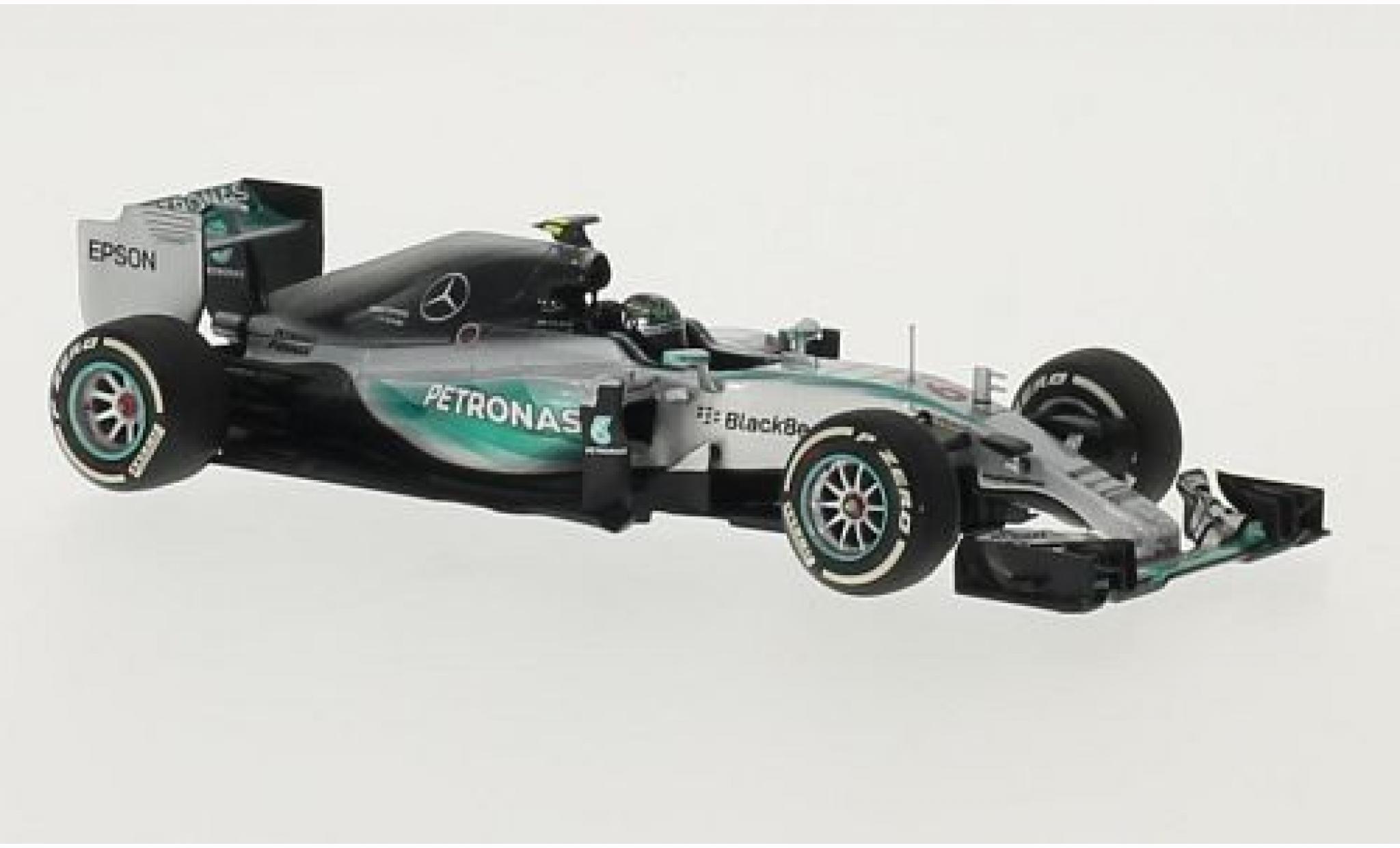Mercedes F1 1/43 I Minichamps W06 Hybrid No.6 AMG Petronas Formula One Team Petronas Formel 1 -Saison 2015 N.Rosberg