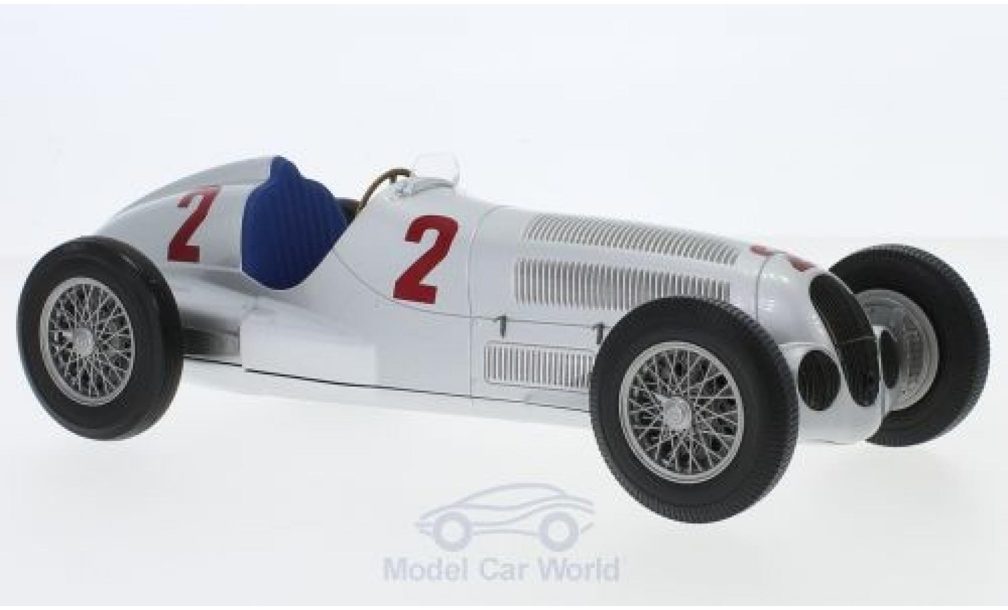 Mercedes W 125 1/18 Minichamps No.2 Formel 1 GP Tripolis 1937 H.Lang