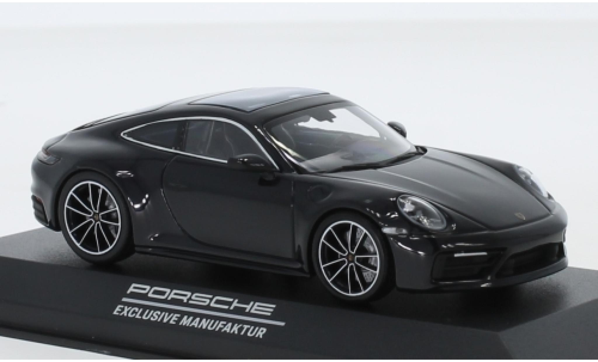 Porsche 911 1/43 I Minichamps (992) Carrera 4S PEM bleue 2020 Belgian Legend