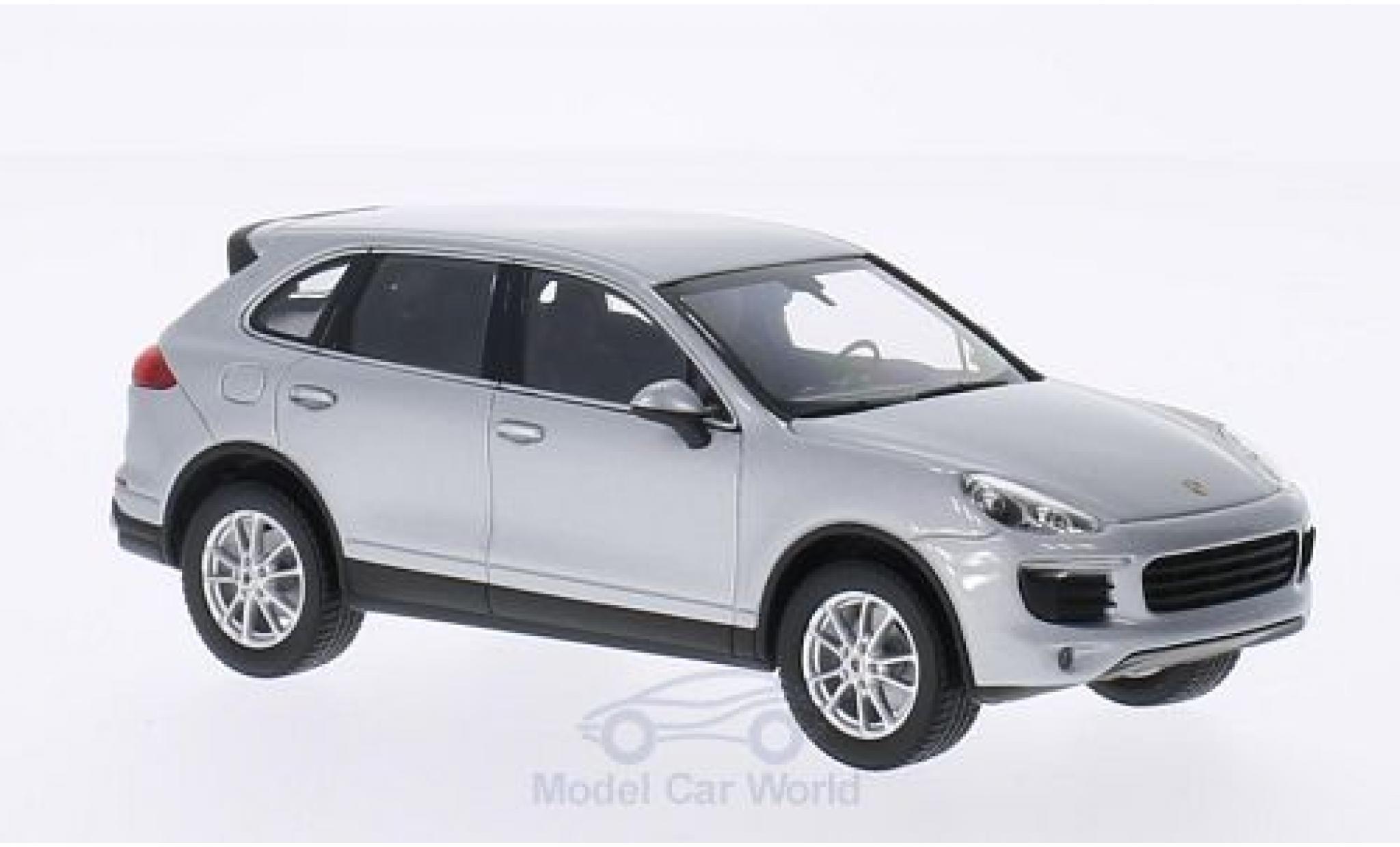 Porsche Cayenne 1/43 I Minichamps GTS grise 2014 ohne Vitrine