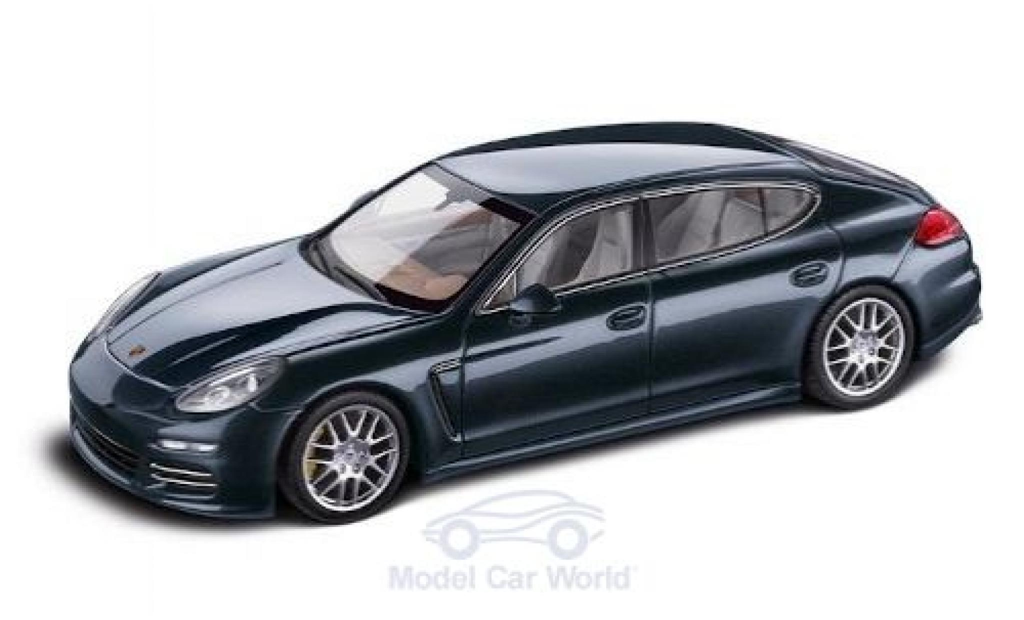 Porsche Panamera 4S 1/43 Minichamps Executive metallise bleue