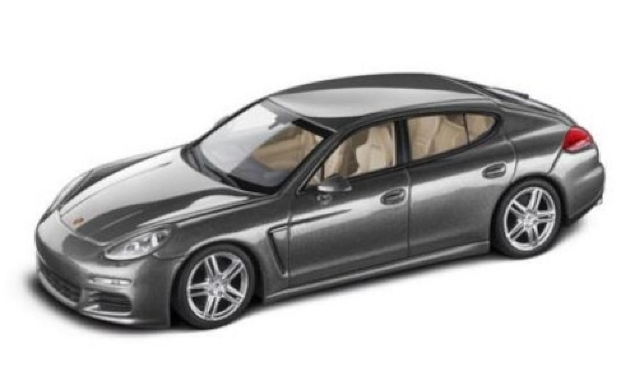Porsche Panamera 1/43 I Minichamps Diesel metallise grise 2016