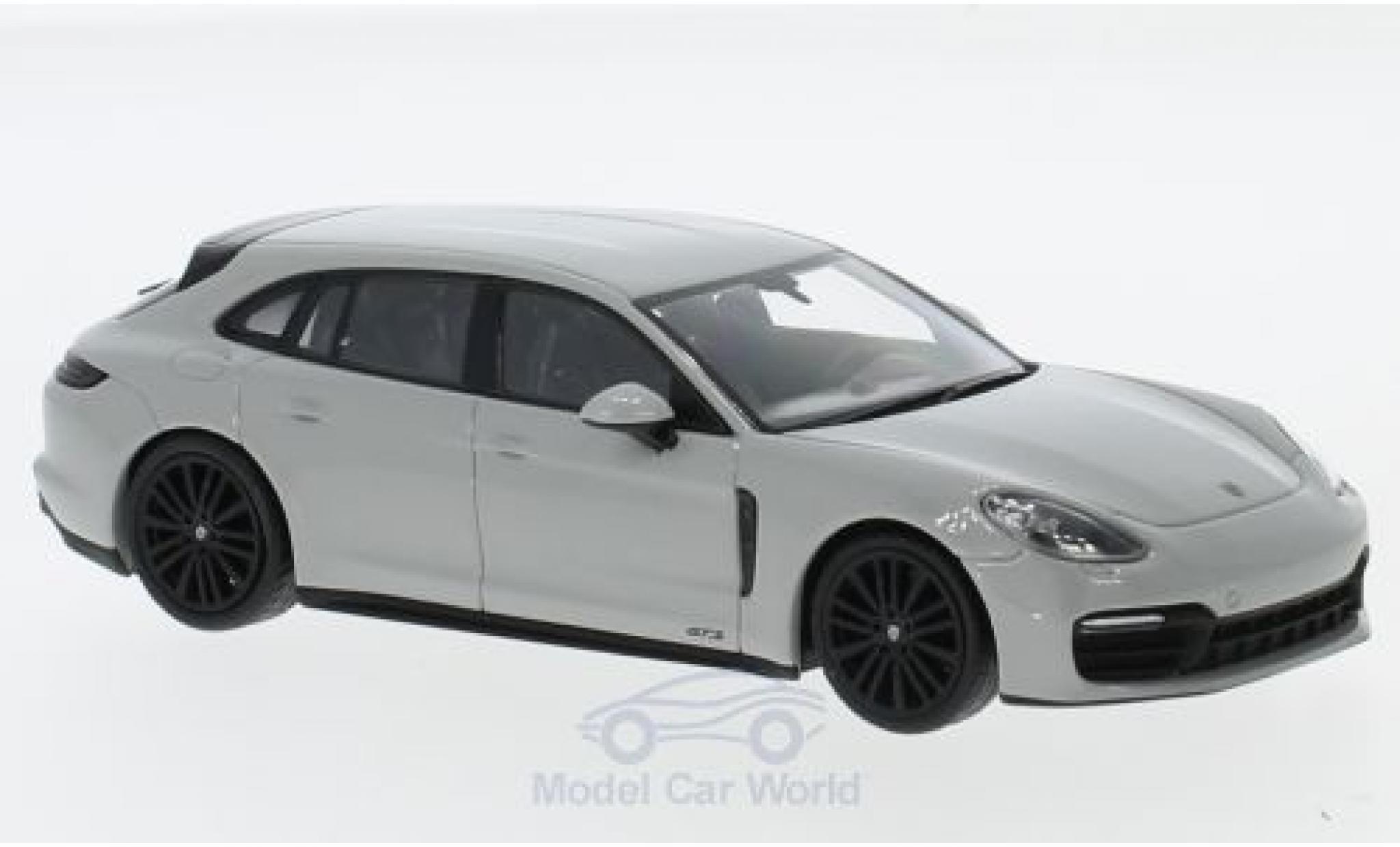 Porsche Panamera Sport Turismo 1/43 Minichamps GTS gris 2018