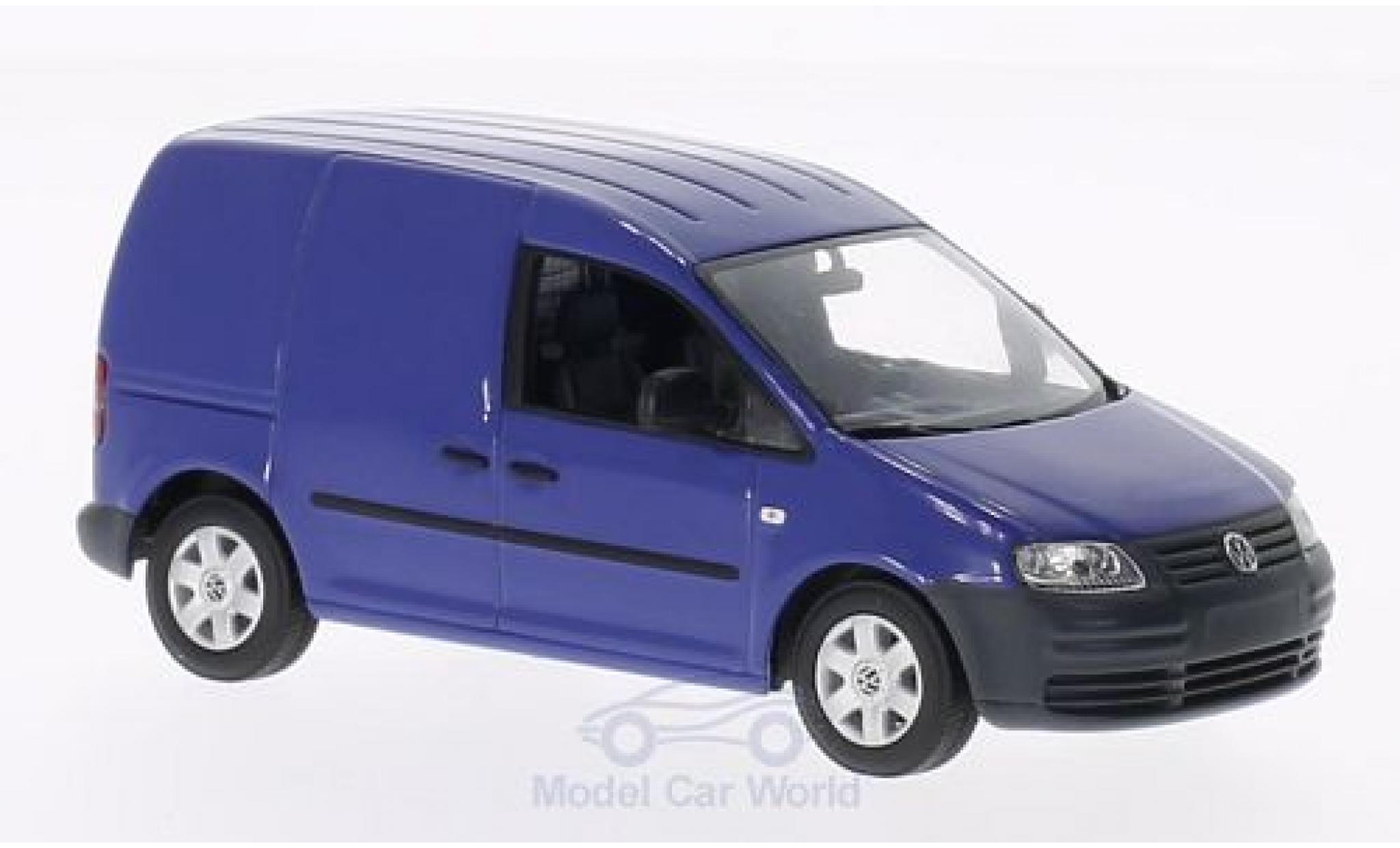 Volkswagen Caddy 1/43 Minichamps bleue 2005