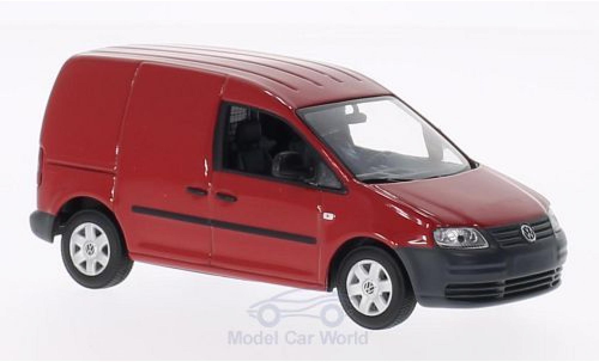 Volkswagen Caddy 1/43 Minichamps rouge 2004