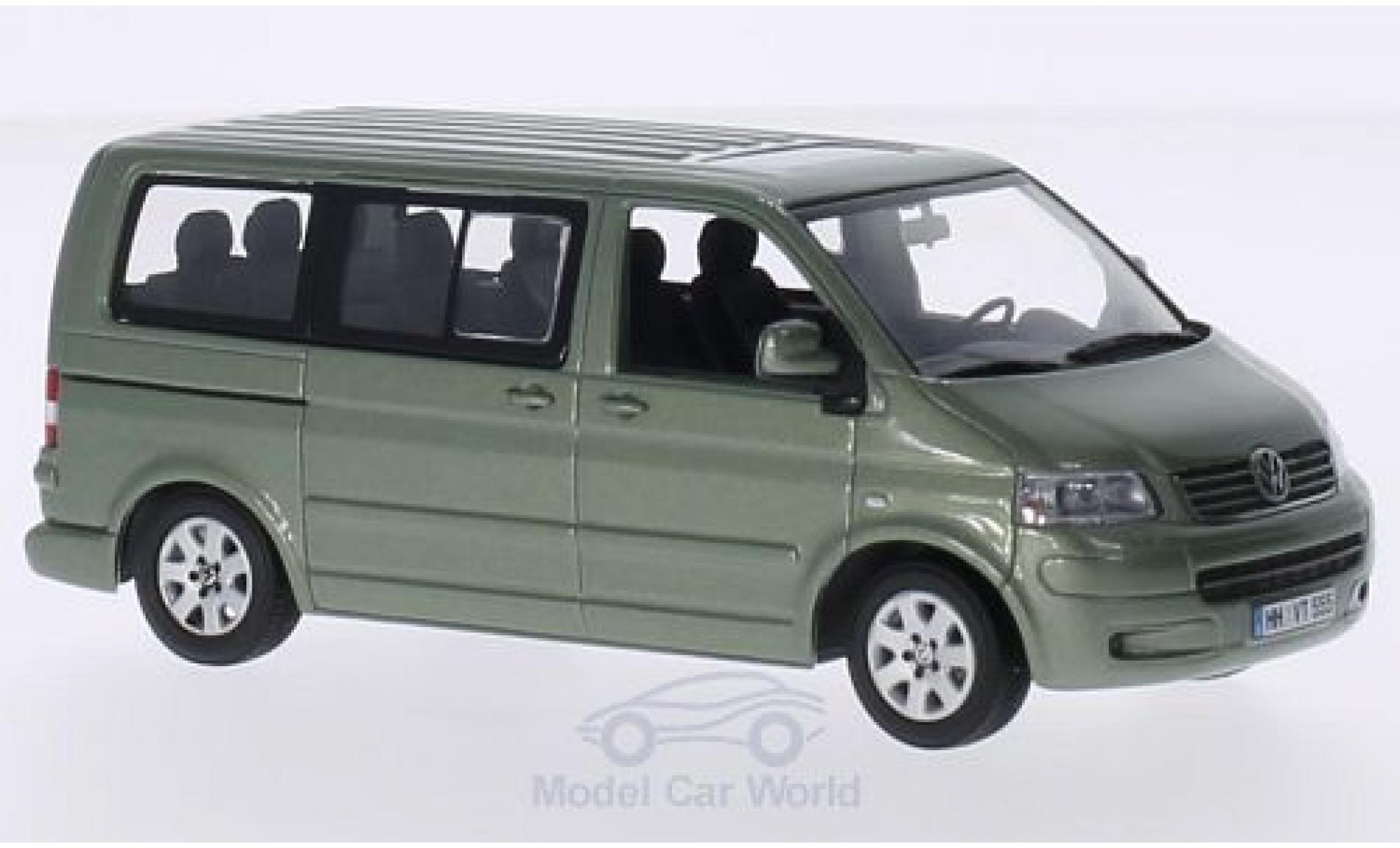 Volkswagen T5 1/43 Minichamps Multivan metallic-hellgrün 2003