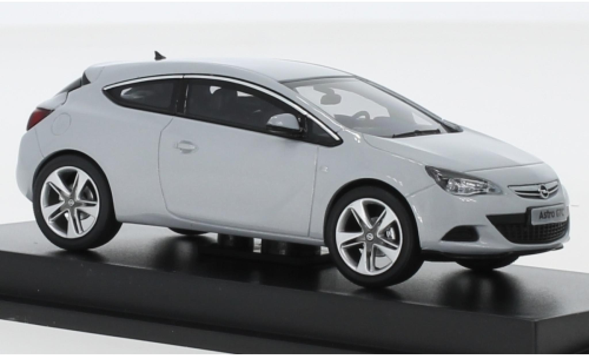 Opel Astra 1/43 I Motorart J GTC metallise grise 2012