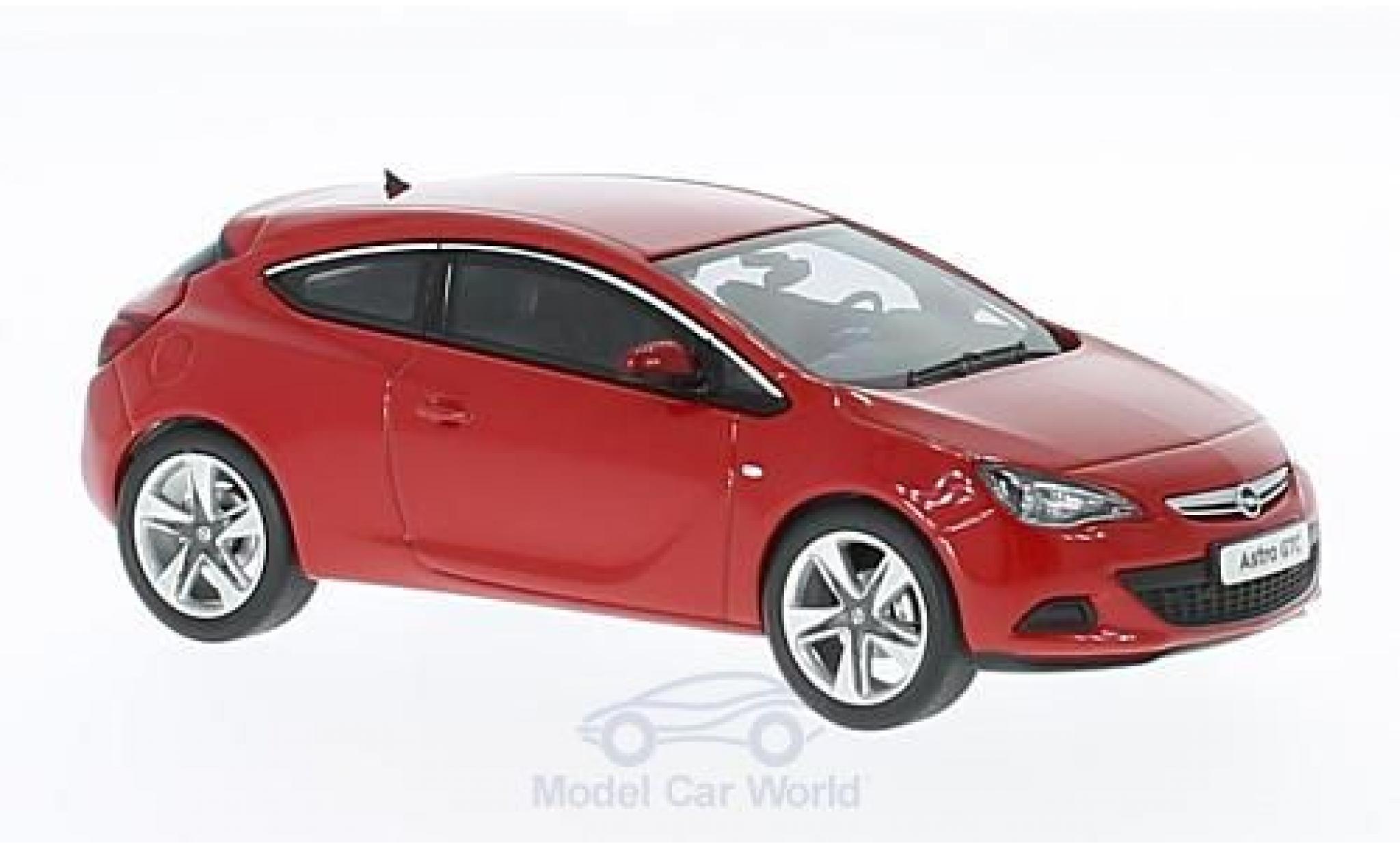 Opel Astra 1/43 Motorart J GTC rouge 2012