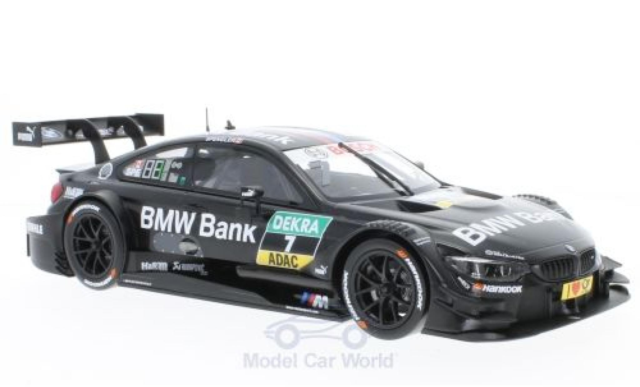 Bmw M4 1/18 Norev BMW DTM No.7 BMW Team MTEK DTM 2016 B.Spengler
