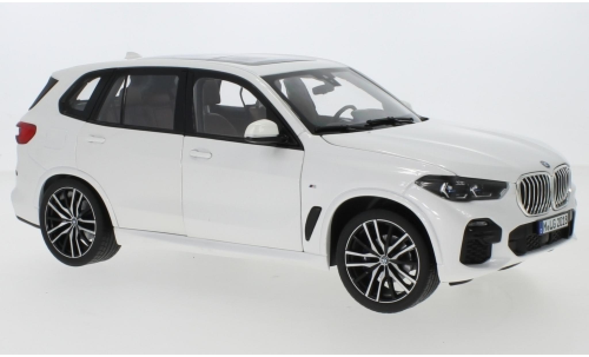 Bmw X5 1/18 Norev (G05) metallise blanche 2018