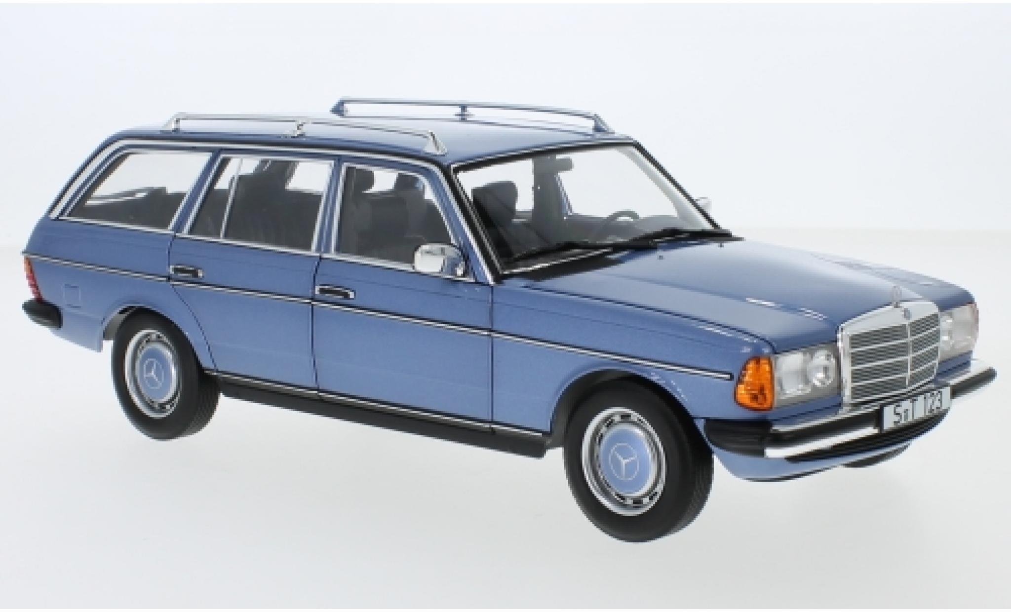 Mercedes 200 1/18 I Norev T (S123) metallise blue 1980