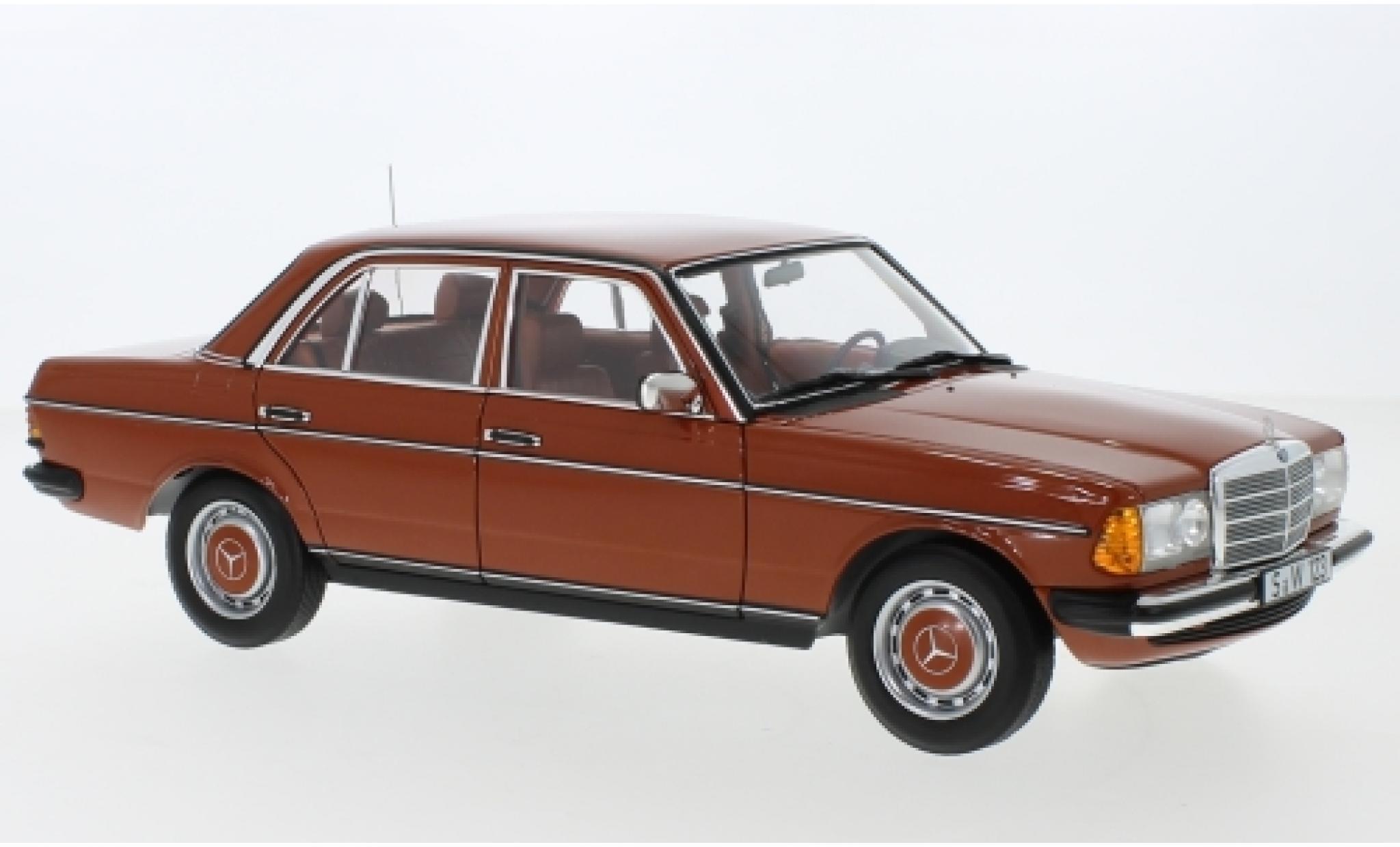 Mercedes 200 1/18 I Norev (W123) rouge 1980