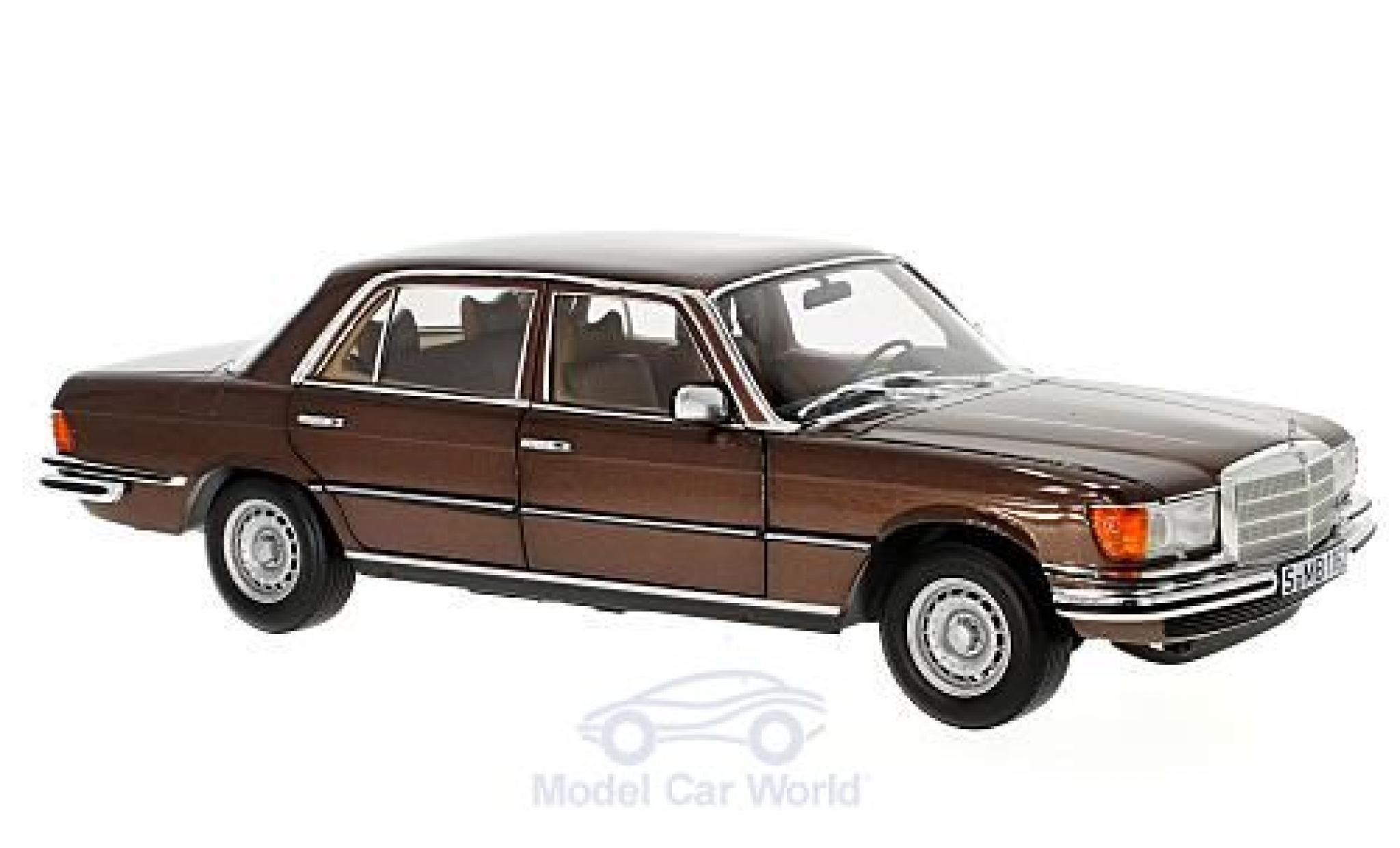 Mercedes 450 SEL 1/18 Norev SEL 6.9 (W116) metallic-marron 1976