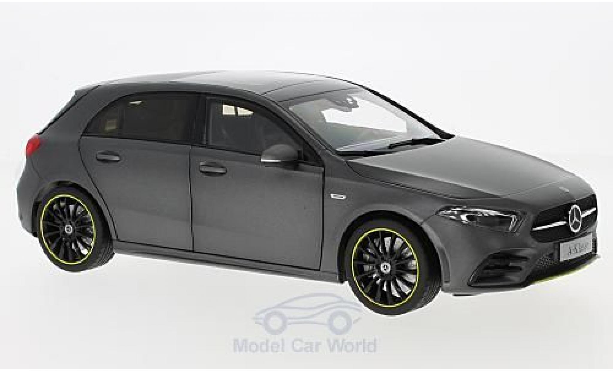 Mercedes Classe A 1/18 Norev (W177) matt-grise 2018