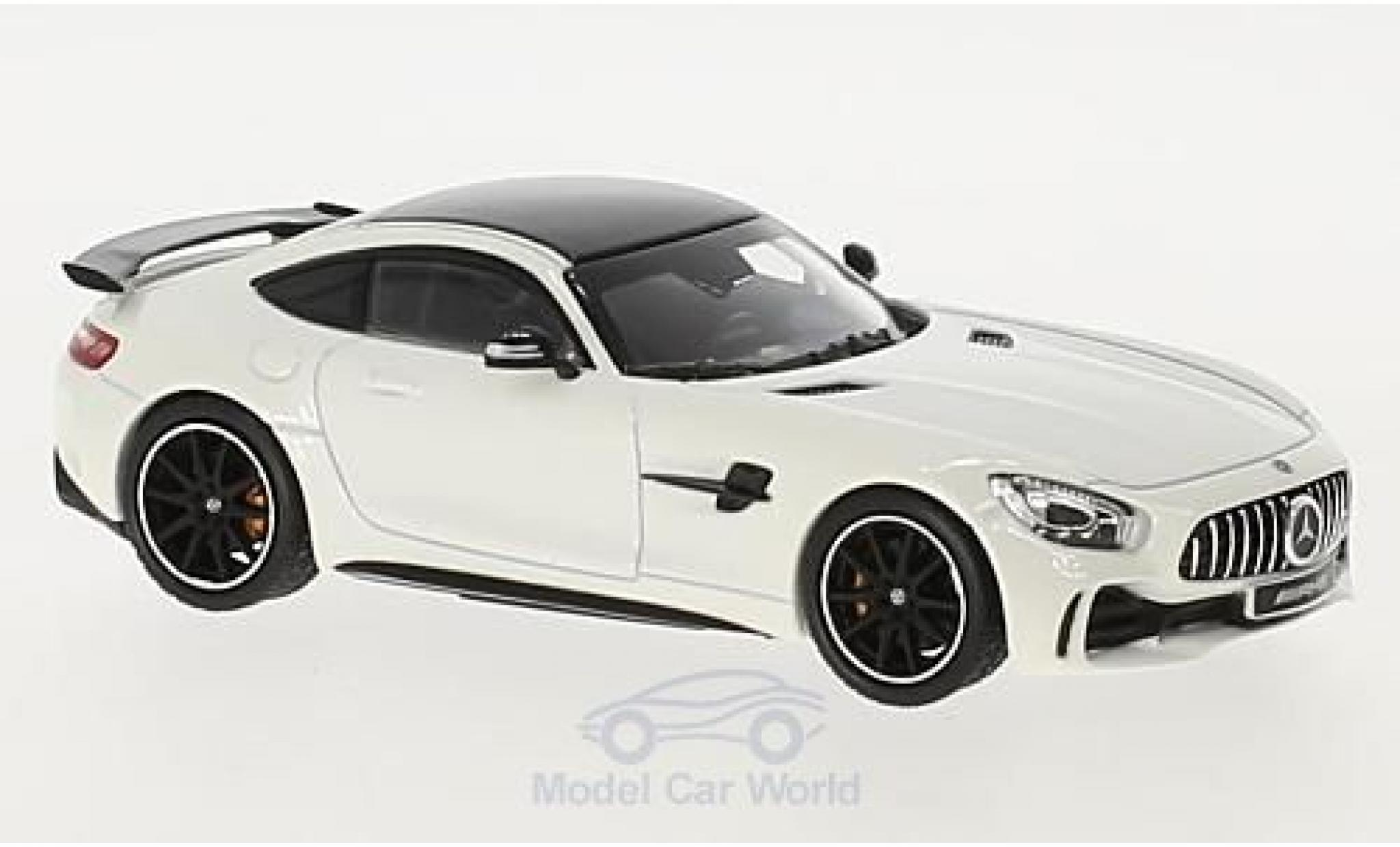 Mercedes AMG GT 1/43 Norev R blanche